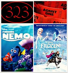 Movie Night at 323!a Disney double feature! 6:30pm Monday July 28th enjoy lots of laughs, free popco