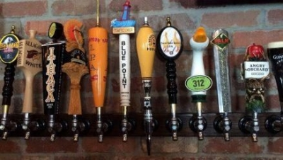 Variety of Draft beers